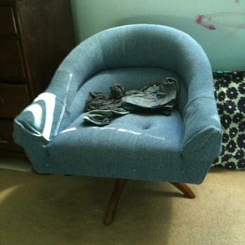 Mystery Chair!!!  Pearsall Kagan???  - Mid-Century Modern