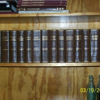 Circa 1930 16 Book Set of Charles Dickens by Odhams Press Limited of London.  - Books