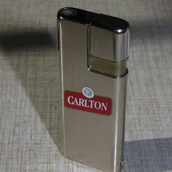 Four Cigarette Advertising Lighters... - Tobacciana