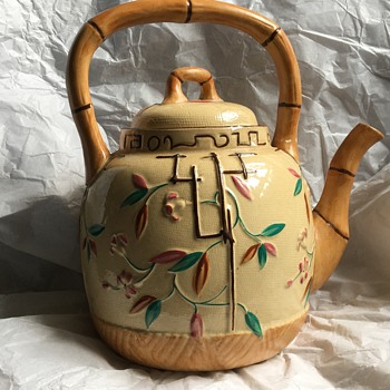 Old teapot  - China and Dinnerware