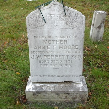 An Old Grave Yard Part Two  - Photographs