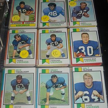Skol Vikings! 1970-74 Topps cards - Football