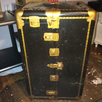 Grandfather's Wardrobe Trunk - Furniture