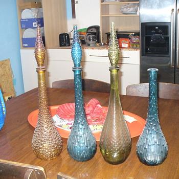 Inherited bottles - Art Glass