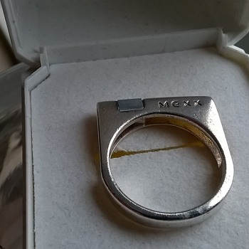 Mexx Sterling Ring Designed By Jens Johannes Aagaard For MEXX - Fine Jewelry