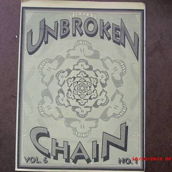 From my Grateful Dead Collection Unbroken Chain Vol.6 No.1 March-April 1991