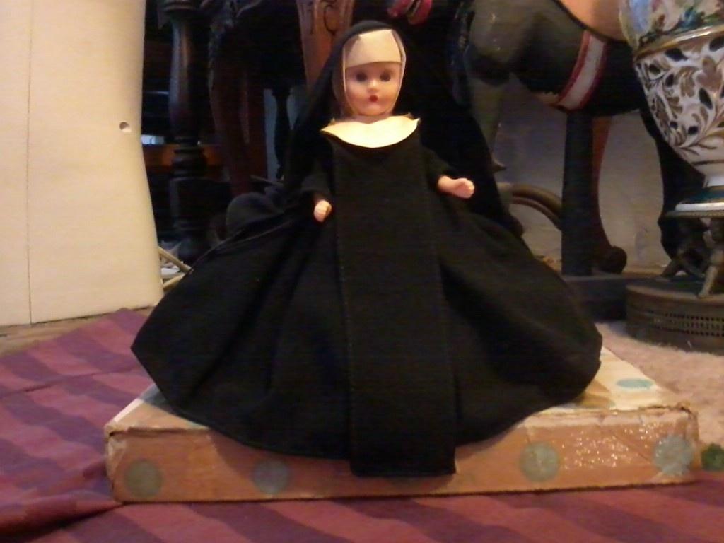 nancy ann storybook doll, nun, circa 1930's or 40's ?? | collectors