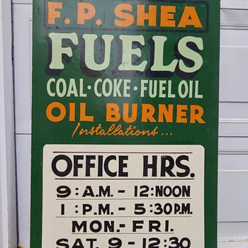 Fuel Sign - Signs