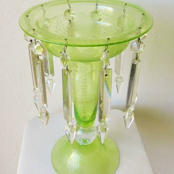 Vaseline Uranium Compote - Maker? - Glassware