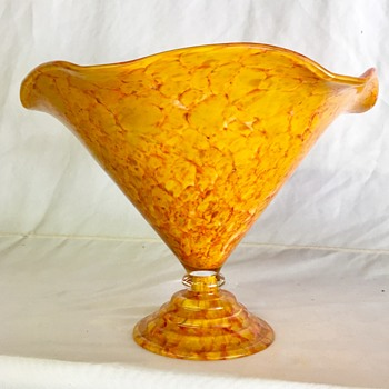 Unknown Czech vase -  Anomaly A - C  - Art Glass