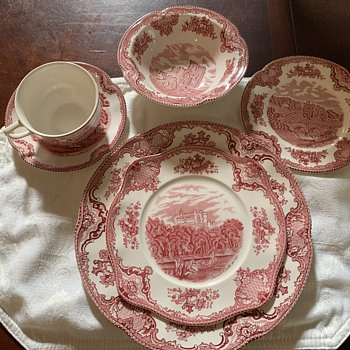 Johnson Brothers Old British Castles - China and Dinnerware