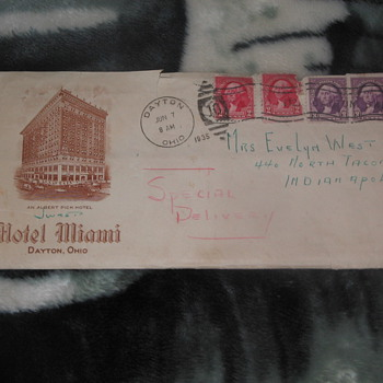 STAMPS COVERS