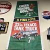 Texaco paper sales banner 1960s