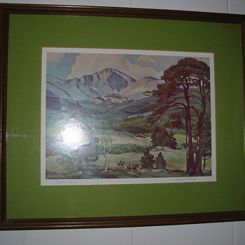 Alfred Wands Lithograph...help needed?