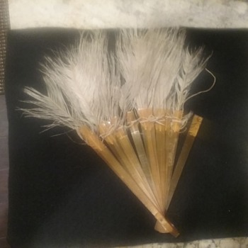 feather german fan  - Accessories