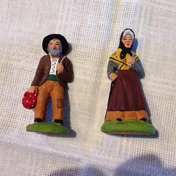 Italian Peasant Figurines - Carbone