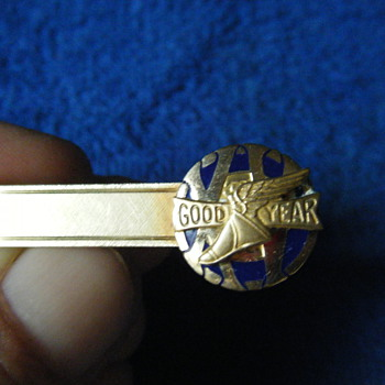GOODYEAR 15 YRS OF SERVICE TIE CLASP CLIP AWARD