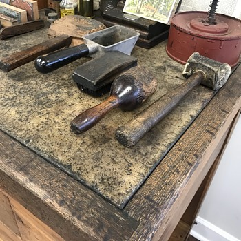 Hamilton printer,s table; Conversation starter in my office - Tools and Hardware