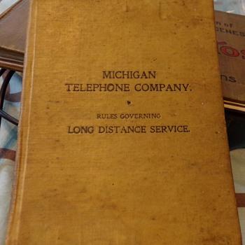 Michigan Telephone Company 1899 - Telephones