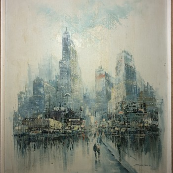 City unknown  - Fine Art