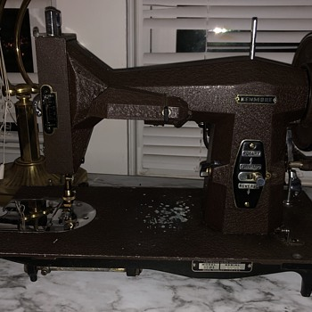 My Domestic and White sewing machines  - Sewing