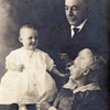 Lovely Vintage Family Photo, Of Baby  And Great-Grandparents.  LOVE EVERYWHERE!