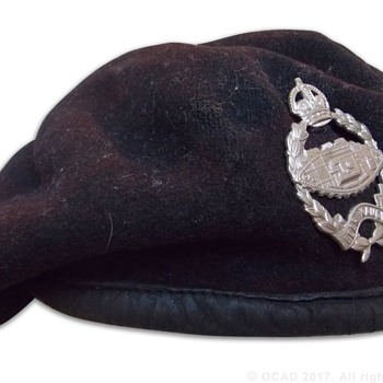 WWII Royal Tank Regiment beret - Military and Wartime