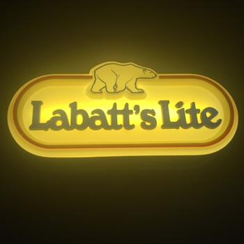 Labatt's Lite Beer Sign - Signs