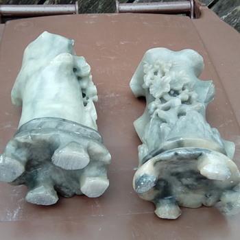 My soap stone vases