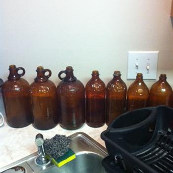 Clorox and Purex Bottles - Bottles