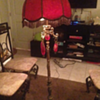 If this lamp could talk!