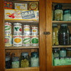 Kitchen Items In The Cupboard