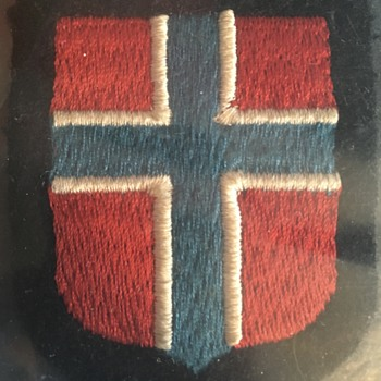 My Waffen SS Norwegian Sleeve Shield - Military and Wartime
