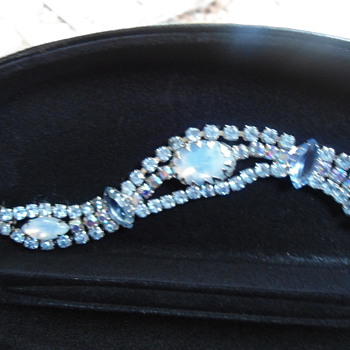 Vintage Blue Ice Bracelet?? - Costume Jewelry