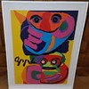 Karel Appel screen print -  1971