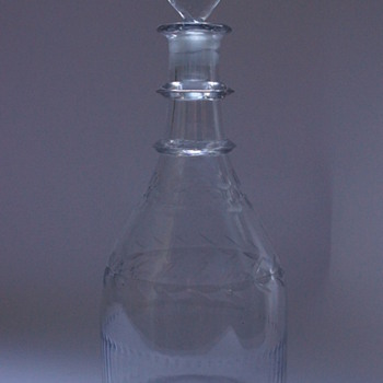 Irish Belfast Decanter  - Bottles