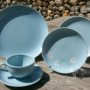 Russell Wright Iroquois China Ice Blue  - Mid-Century Modern