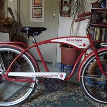 Vintage Roadmaster Skyrider Mens Bicycle-late 1950s >? near mint all original