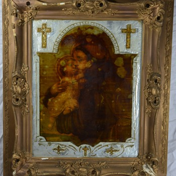 Antique Christ Relic  - Posters and Prints