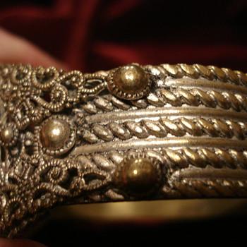 Filagree Bracelet - Costume Jewelry