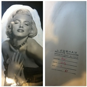 My Marilyn Photo  - Photographs