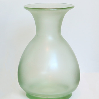 Fritz Heckert Cypern Vase - Art Glass