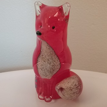 Langham Glass fox  - Animals
