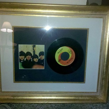 john lennon signed record
