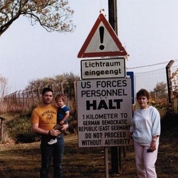East German Border - Signs