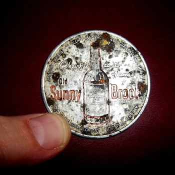 Sunny Brook whiskey coin