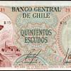 Chile - (500) Escudos Bank Note