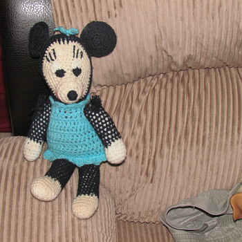 Minnie  Mouse home made item ..