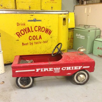 AMF Fire Chief Pedal Car  - Toys