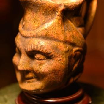 Face Pitcher - Pottery